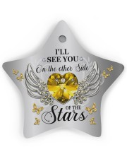 Limited Edition Star Ornament (Wood) tile