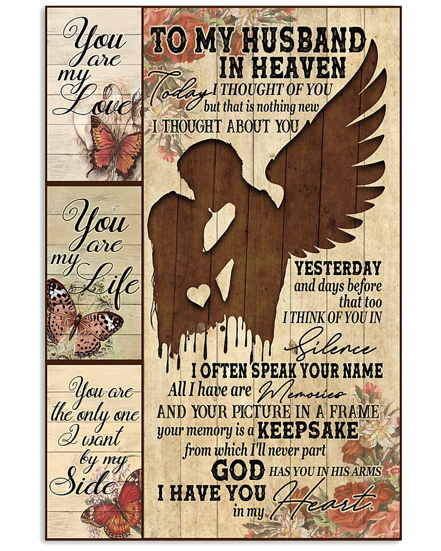 To My Husband 11x17 Poster