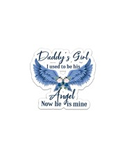Daddy's Girl I Used To Be His Angel Now He's Mine Sticker tile