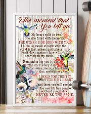 The Moment That You Left Me 11x17 Poster lifestyle-poster-4