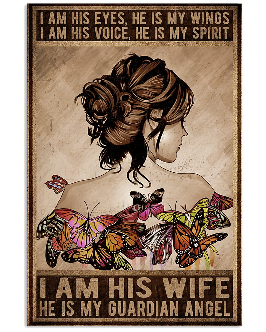 I Am His Eyes 11x17 Poster