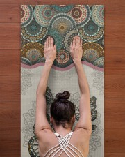 Limited Edition Yoga Mat 24x70 (vertical) aos-yoga-mat-lifestyle-23