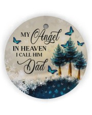 My Angel In Heaven Circle ornament - single (wood) thumbnail