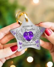 As Long As I Breathe Star ornament - single (porcelain) aos-star-ornament-single-porcelain-lifestyles-10