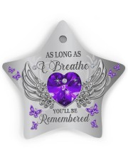 As Long As I Breathe Star ornament - single (wood) thumbnail