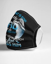 My Dad In Heaven Cloth face mask aos-face-mask-lifestyle-21