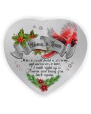 Christmas In Heaven Heart ornament - single (wood) thumbnail