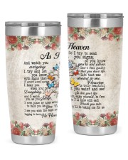 As I Sit In Heaven 20oz Tumbler front
