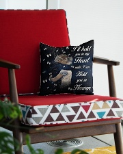 Ill Hold You In My Heart Square Pillowcase aos-pillow-square-front-lifestyle-09