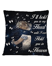 Ill Hold You In My Heart Square Pillowcase back