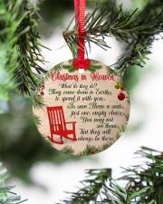 Christmas In Heaven Circle ornament - single (porcelain) aos-circle-ornament-single-porcelain-lifestyles-07
