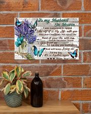 To My Husband In Heaven 17x11 Poster poster-landscape-17x11-lifestyle-23