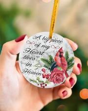 A Big Piece Of My Heart Circle ornament - single (porcelain) aos-circle-ornament-single-porcelain-lifestyles-09