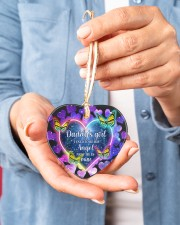 Daddys Girl Heart ornament - single (porcelain) aos-heart-ornament-single-porcelain-lifestyles-01