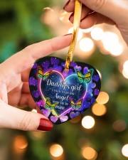 Daddys Girl Heart ornament - single (porcelain) aos-heart-ornament-single-porcelain-lifestyles-09
