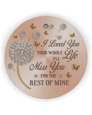 I Loved You Circle ornament - single (wood) thumbnail