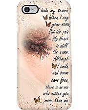 I Hide My Tears Phone Case i-phone-8-case