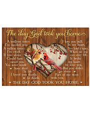 The Day God Took You Home 17x11 Poster front