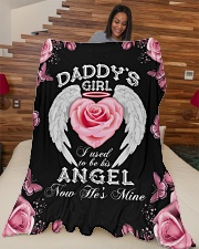 """Limited Edition Large Fleece Blanket - 60"""" x 80"""" aos-coral-fleece-blanket-60x80-lifestyle-front-04"""