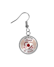 I Hold You In My Heart Circle Earrings thumbnail
