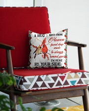 A Hug Sent From Heaven Square Pillowcase aos-pillow-square-front-lifestyle-09
