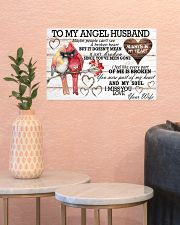 To My Angel Husband 17x11 Poster poster-landscape-17x11-lifestyle-21