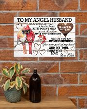 To My Angel Husband 17x11 Poster poster-landscape-17x11-lifestyle-23