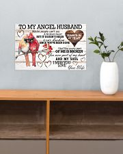 To My Angel Husband 17x11 Poster poster-landscape-17x11-lifestyle-24