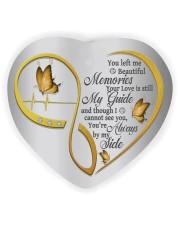 You Left Me Beautiful Memories Heart Ornament (Wood) tile