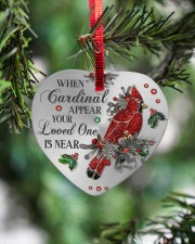 Your Loved One Is Near Heart ornament - single (porcelain) aos-heart-ornament-single-porcelain-lifestyles-07