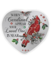 Your Loved One Is Near Heart Ornament (Wood) tile