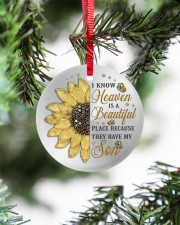 Because They Have My Son Circle ornament - single (porcelain) aos-circle-ornament-single-porcelain-lifestyles-07