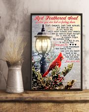 Red Feathered Soul 11x17 Poster lifestyle-poster-3