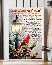 Red Feathered Soul 11x17 Poster lifestyle-poster-4