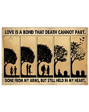 Love Is A Bond 17x11 Poster front