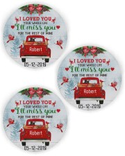 I Loved You Circle ornament - 3 pieces (wood) thumbnail