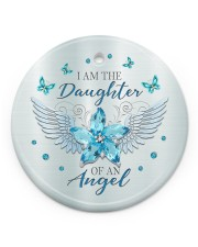I Am The Daughter Circle ornament - single (porcelain) front