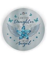 I Am The Daughter Circle Ornament (Wood tile