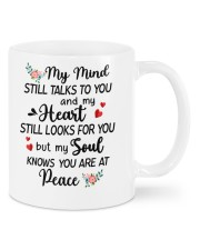 My Mind Still Talks To You Mug front