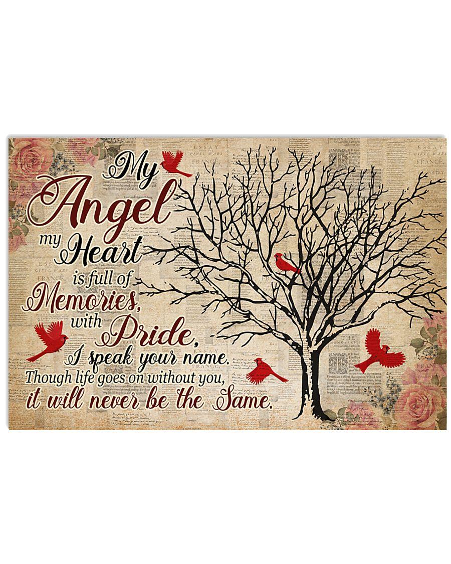 My Angel My Heart  17x11 Poster