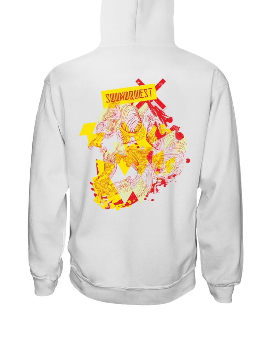 SoundQuest Psychedelic Skull Hoodie -  Hooded Sweatshirt