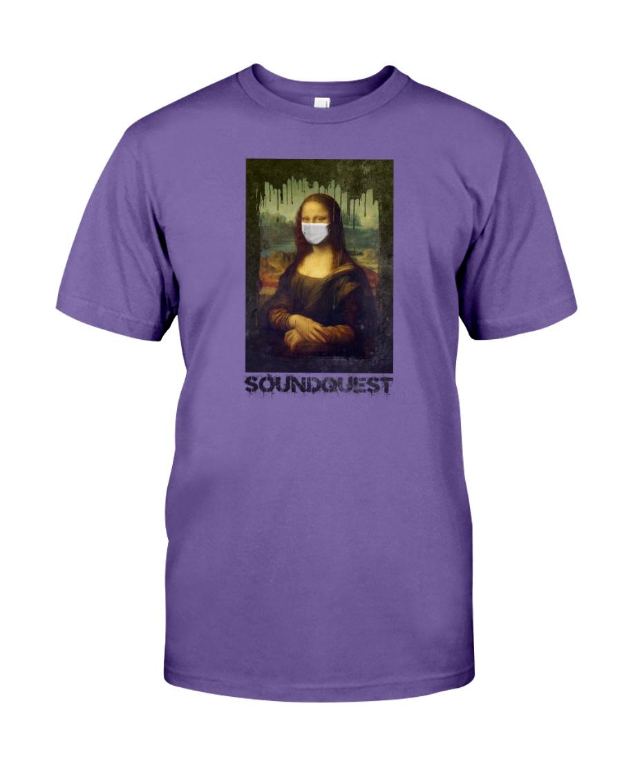 SoundQuest Corona Lisa T-shirt -  Premium Fit Mens Tee