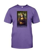 SoundQuest Corona Lisa T-shirt -  Premium Fit Mens Tee front
