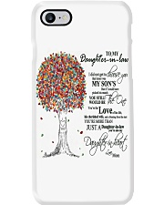 TO MY DAUGHTER IN LAW Phone Case thumbnail
