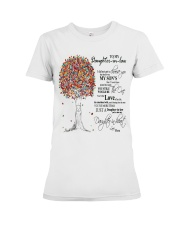 TO MY DAUGHTER IN LAW Premium Fit Ladies Tee tile