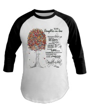 TO MY DAUGHTER IN LAW Baseball Tee tile