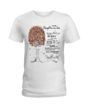 TO MY DAUGHTER IN LAW Ladies T-Shirt tile