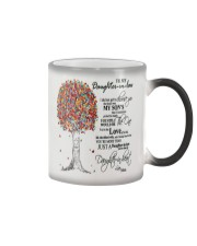 TO MY DAUGHTER IN LAW Color Changing Mug tile