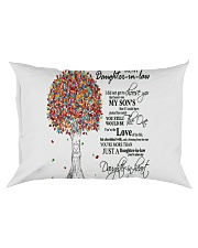 TO MY DAUGHTER IN LAW Rectangular Pillowcase thumbnail