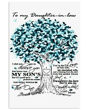 TO MY DAUGHTER IN LAW 11x17 Poster thumbnail